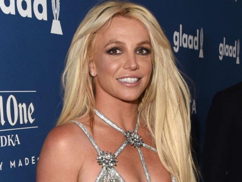 Britney Spears sorridente
