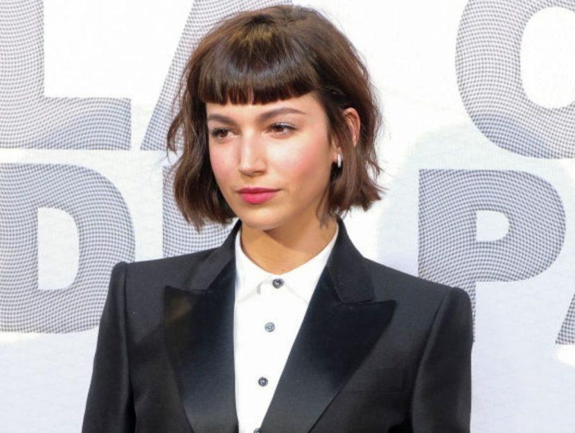 l'attrice Ursula Corbero