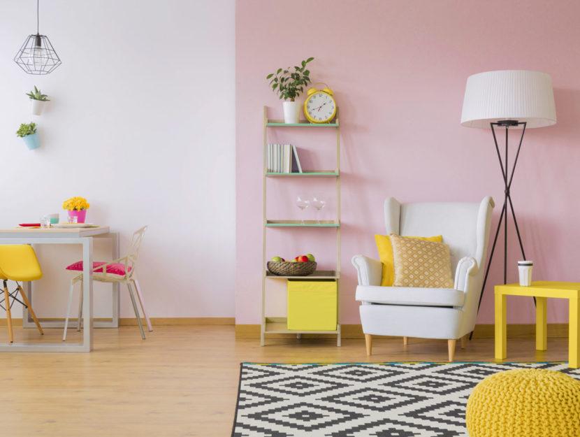 Piccolo soggiorno colorato