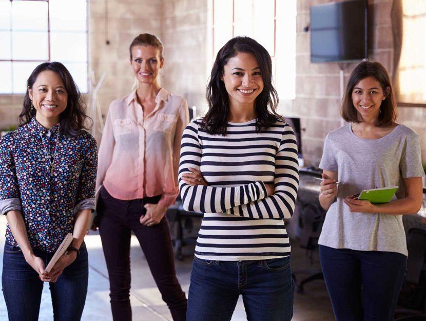 donne che collaborano