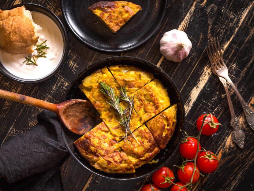 ricetta frittata in padella