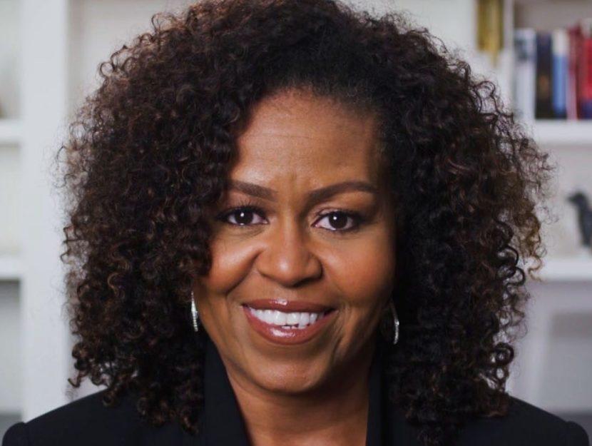 Michelle Obama sorridente