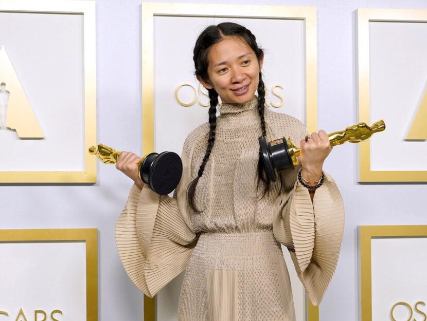 La regista di Nomadland Chloé Zhao