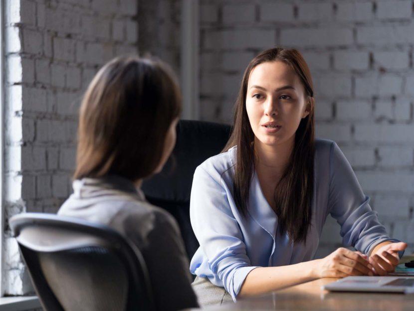 Colloquio di lavoro donne