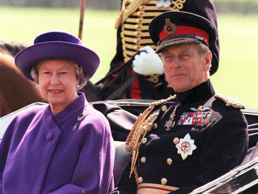 Elisabetta e il principe Filippo