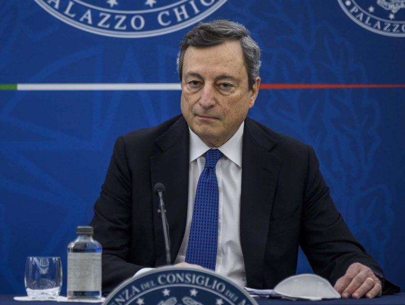 Mario Draghi Palazzo Chigi 2021
