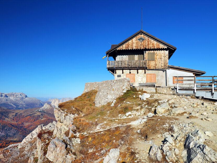 Rifugio Nuvolau Dolomiti Italia