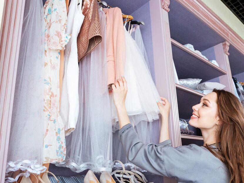 consigli per l'armadio piccolo