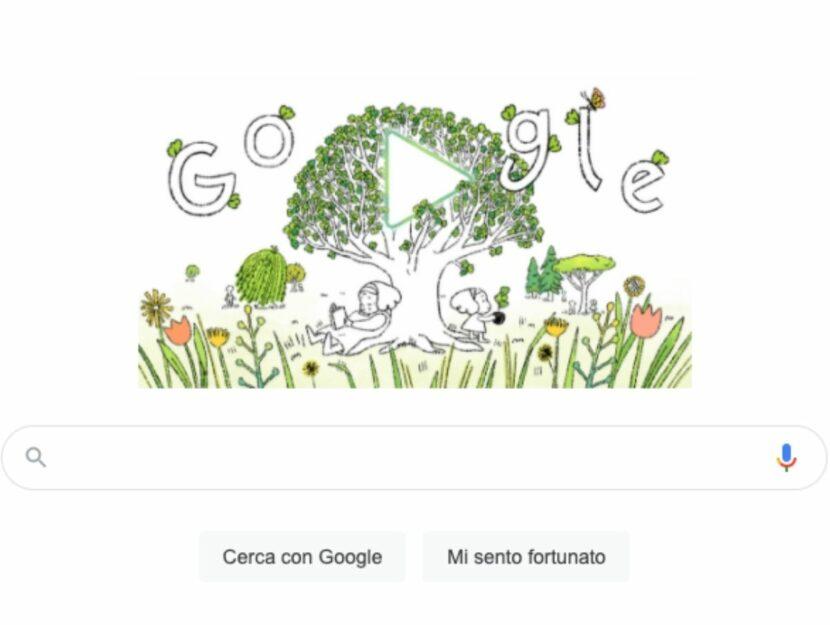 Google Doodle per l'Earth Day 2021
