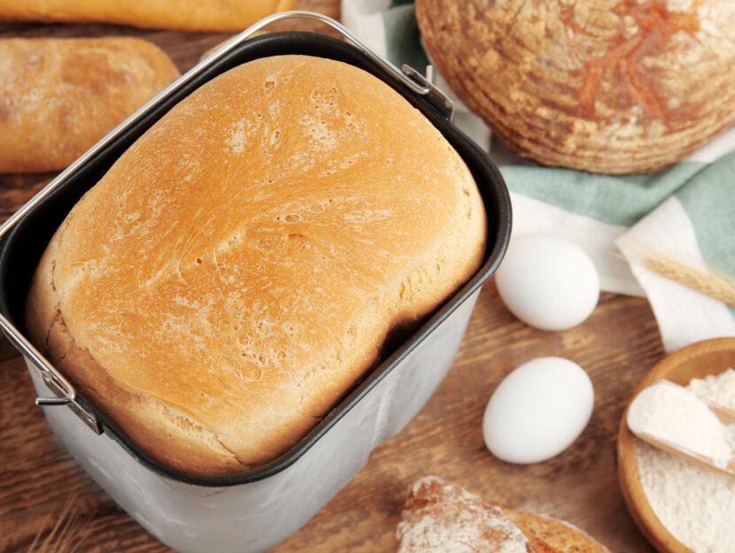 ricetta pane con la macchina del pane