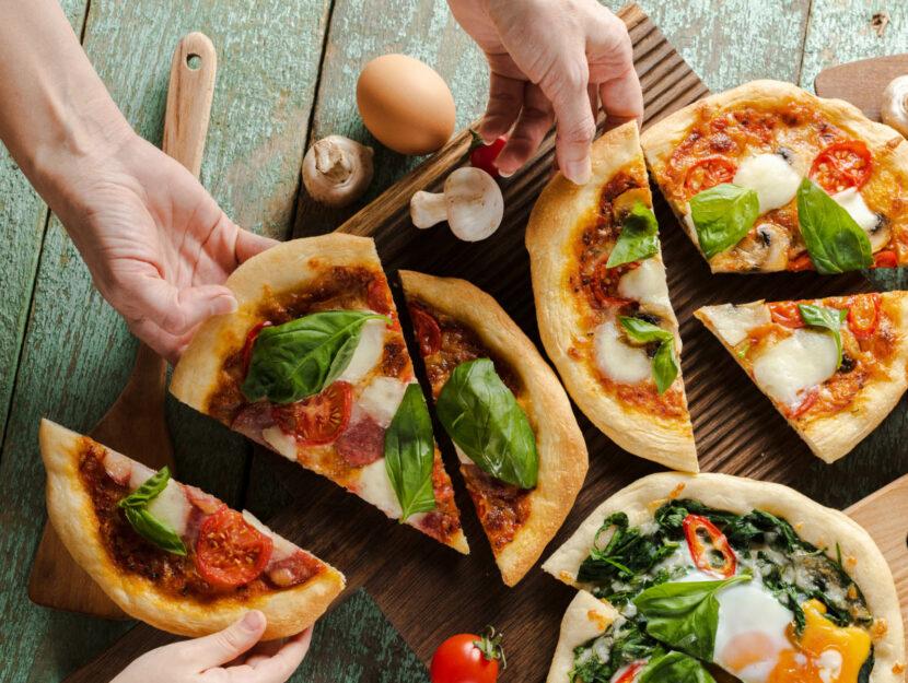 pizza fatta in casa light