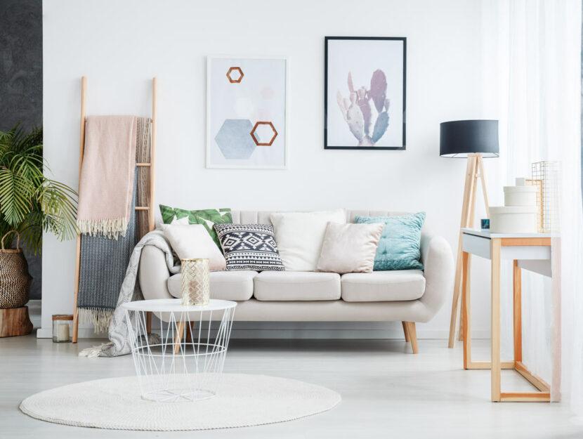 living room chiara colori pastello