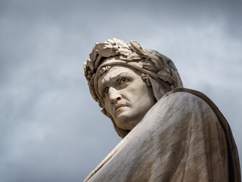 Dante Alighieri piazza Santa Croce Firenze