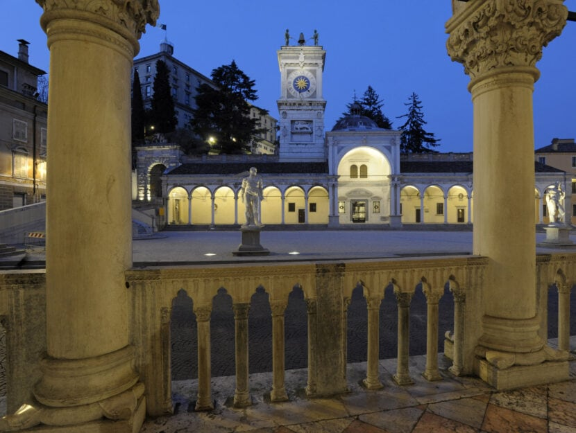 Piazza Liberta Udine Friuli-Venezia Giulia, Italy