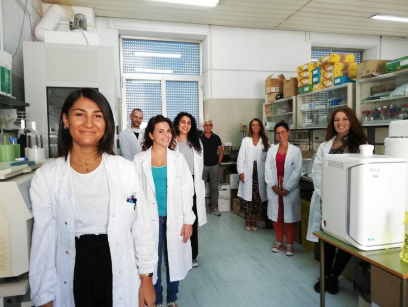 Il gruppo di ricerca dell'Istituto Nazionale per la cura dei Tumori Fondazione Pascale di Napoli c
