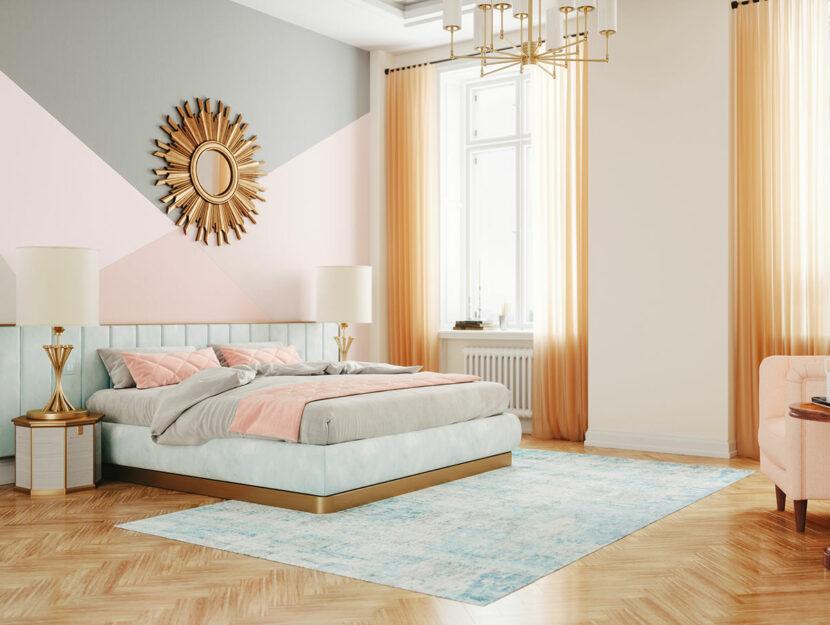 camera da letto art decò