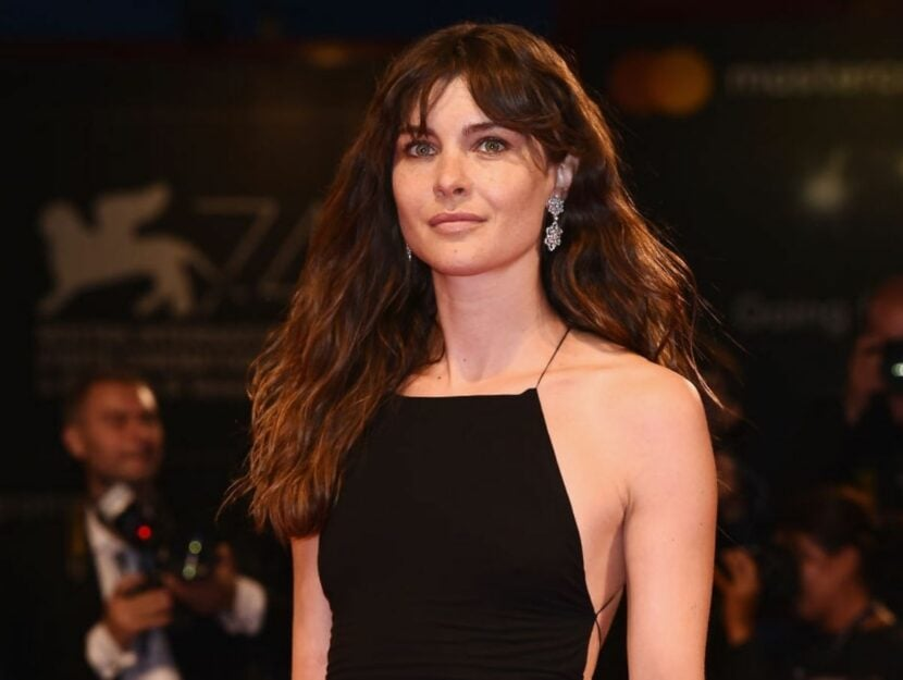 Attrice Puccini sul Red Carpet