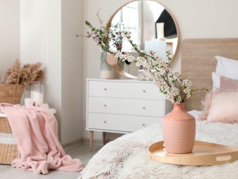 Arredo fiori camera da letto