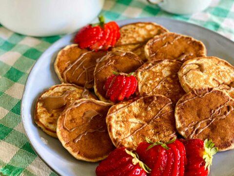 Pancake (vegani e senza zucchero) fatti in casa