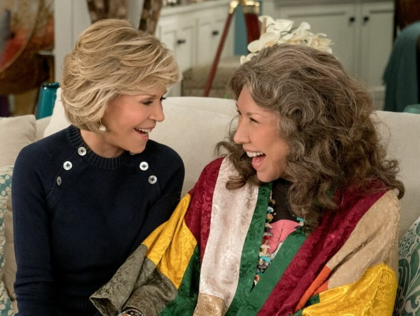 Jane Fonda e Lily Tomlin
