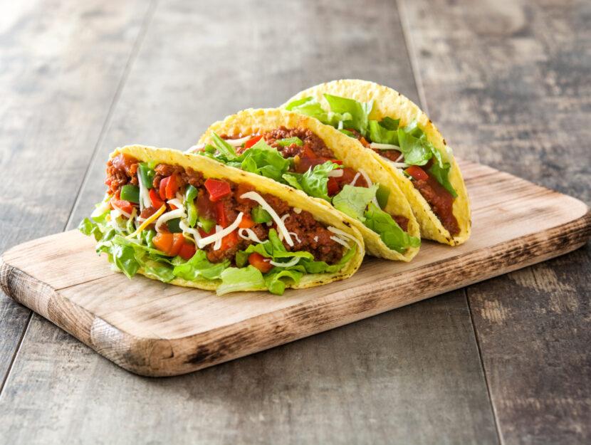 ricetta dei tacos