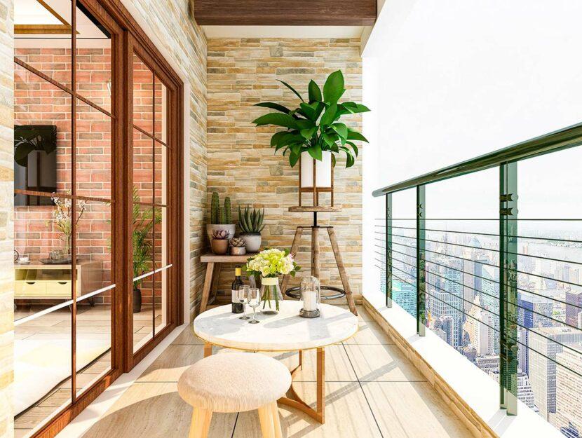 trasformare il tuo balcone in un'oasi di pace urbana