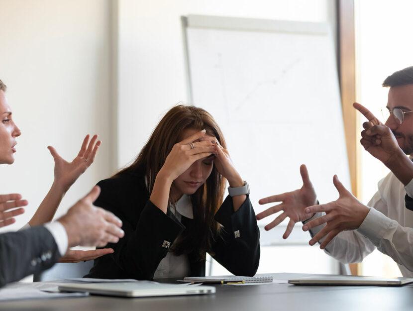 motivi che portano a conflitti con i colleghi