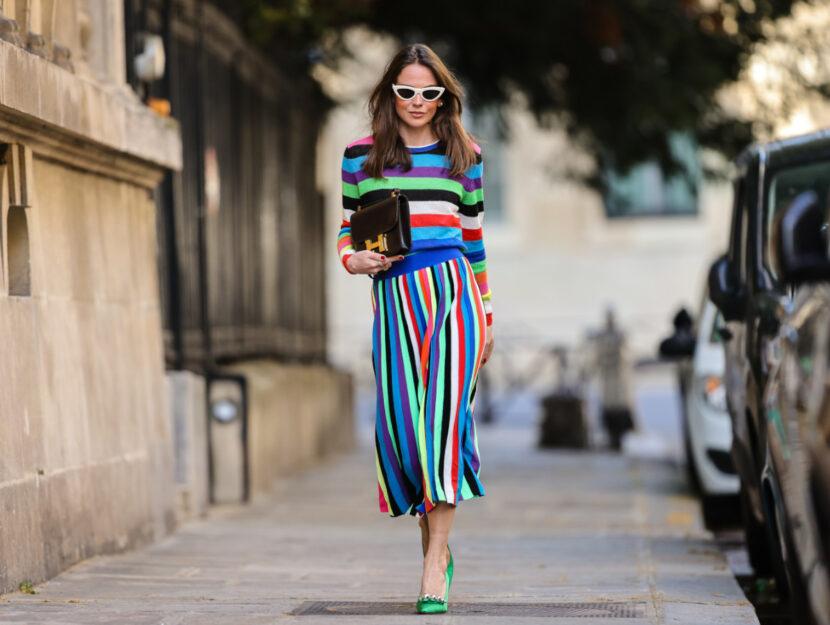 Arcobaleno moda estate 2021
