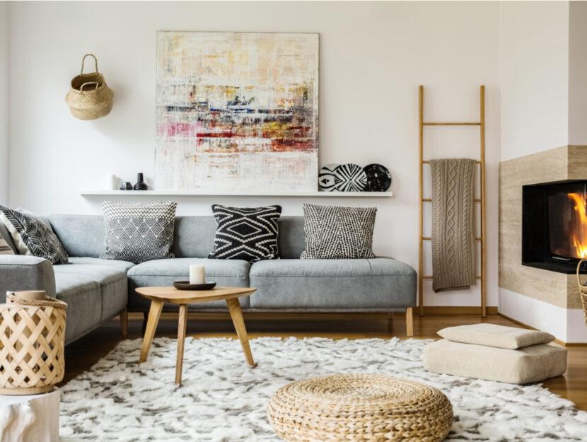 decorare casa con i cuscini