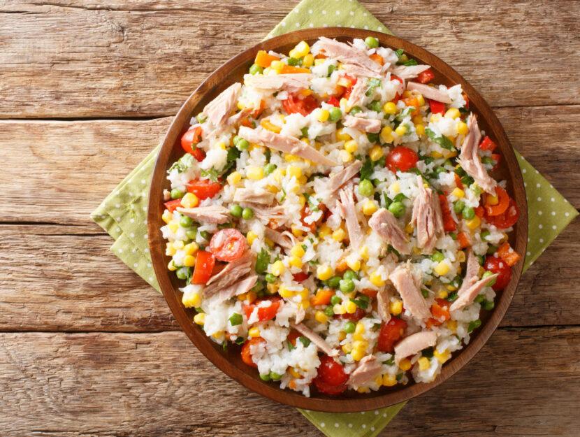 ricette insalata di riso