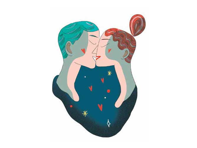 Illustrazione Elisa Macellari per Donna Moderna-2021