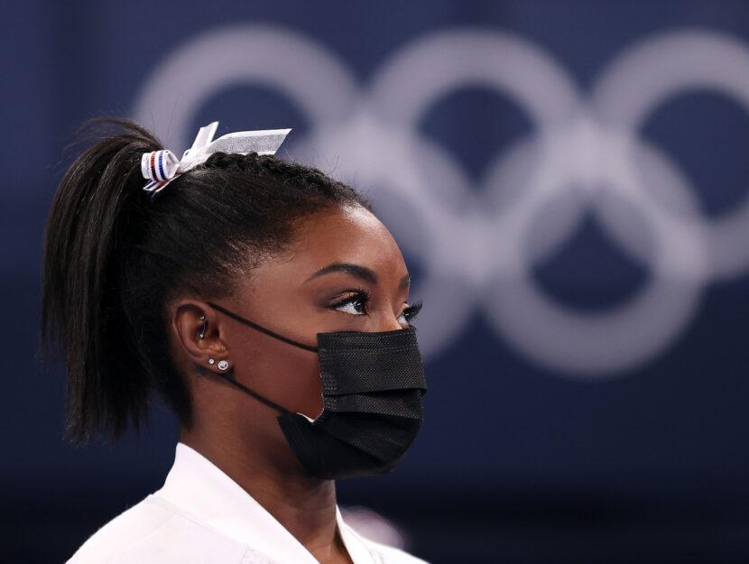 Simone Biles alle Olimpiadi di Tokyo