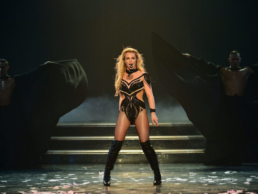 Britney Spears a Las Vegas nel 2017