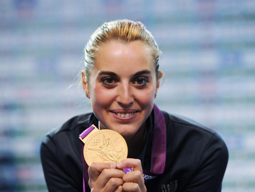 Jessica Rossi atleta Italia 2012
