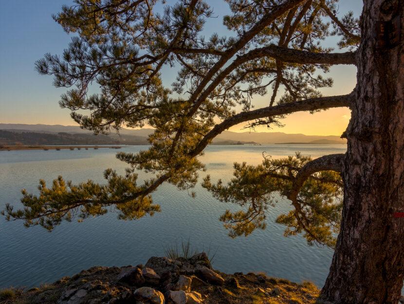 Lago artificiale di Cecita Calabria