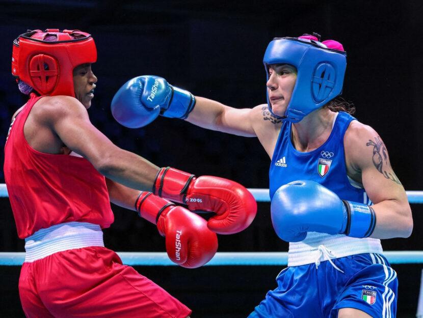 Rebecca Nicoli boxe