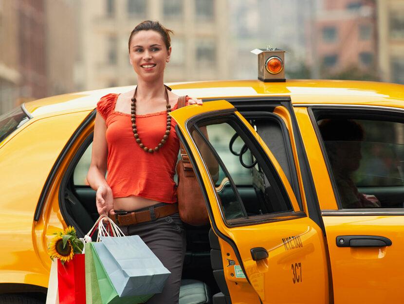 regole di comportamento in taxi