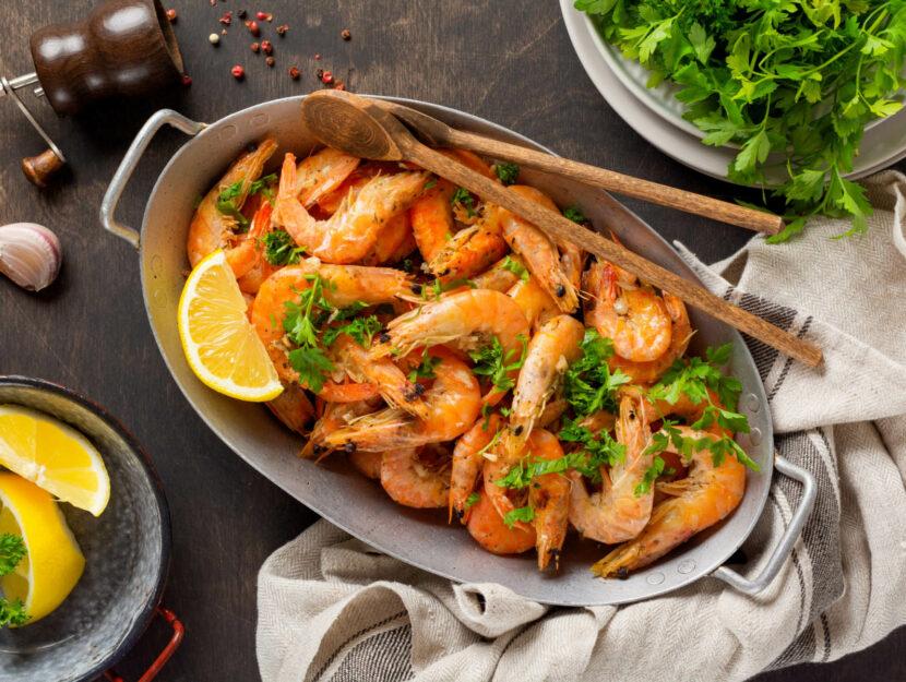ricetta gamberoni al forno