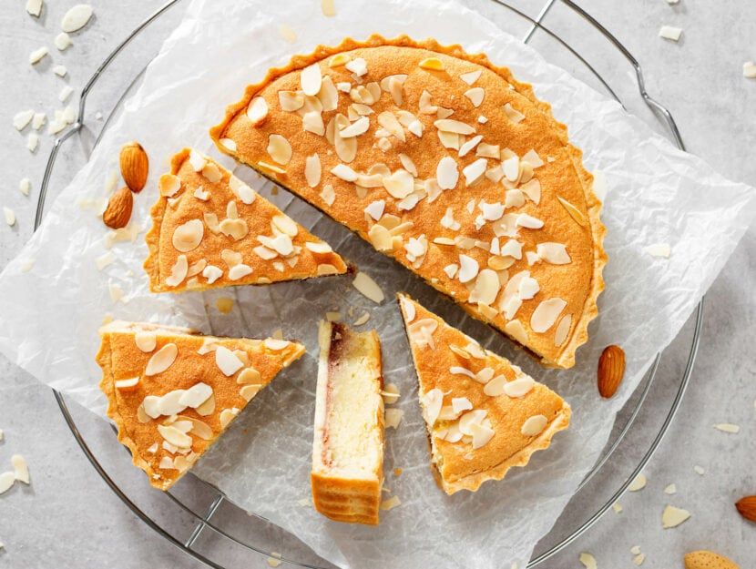 ricetta torta frangipane