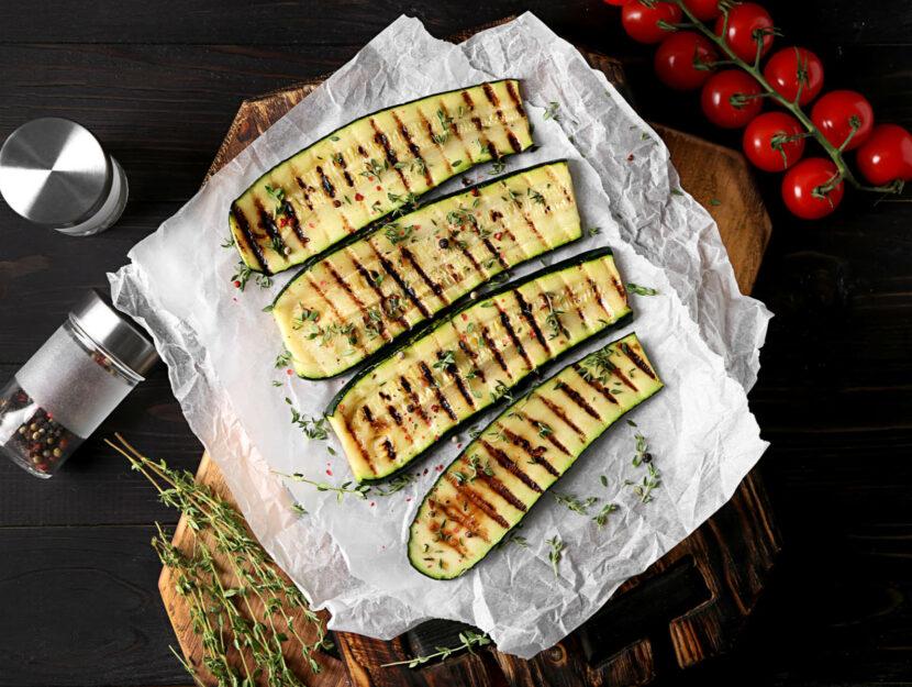 ricetta zucchine grigliate