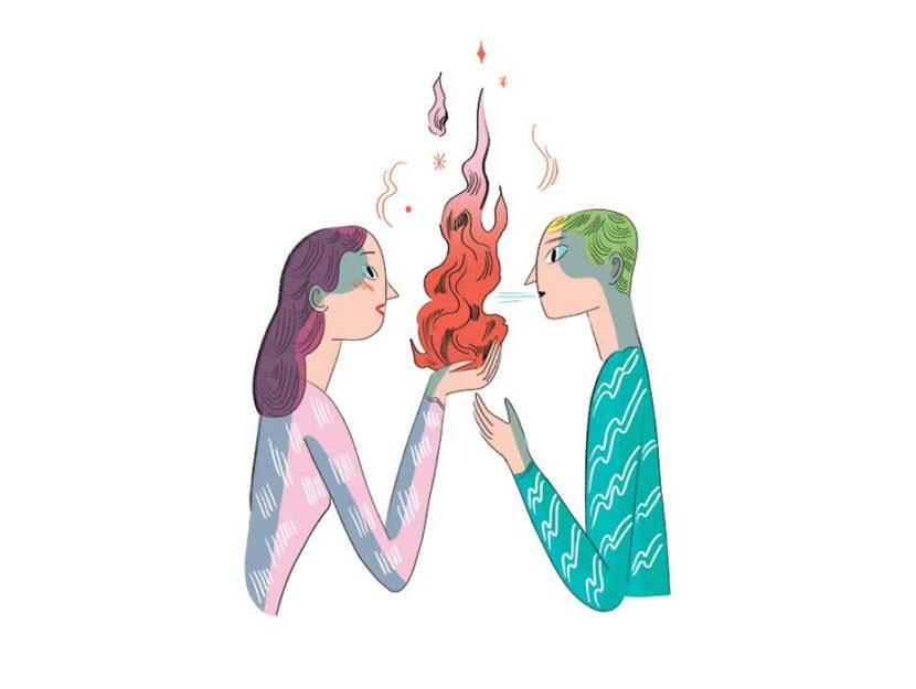 Illustrazione di Elisa Macellari per Donna Moderna