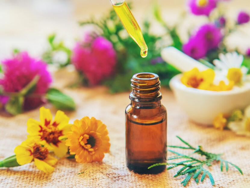 Piante medicinali fiori gocce