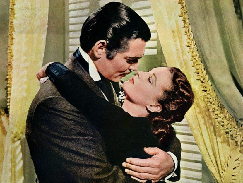 Rossella O'Hara e Rhett Butler
