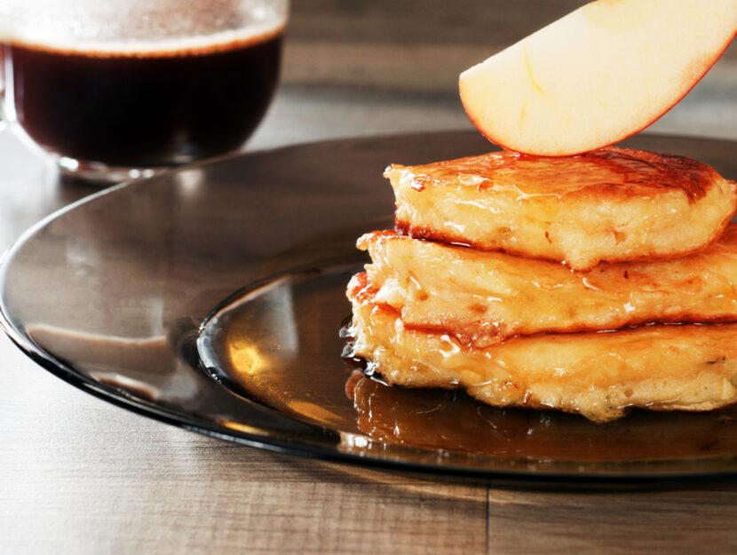 ricetta frittelle di mele al forno