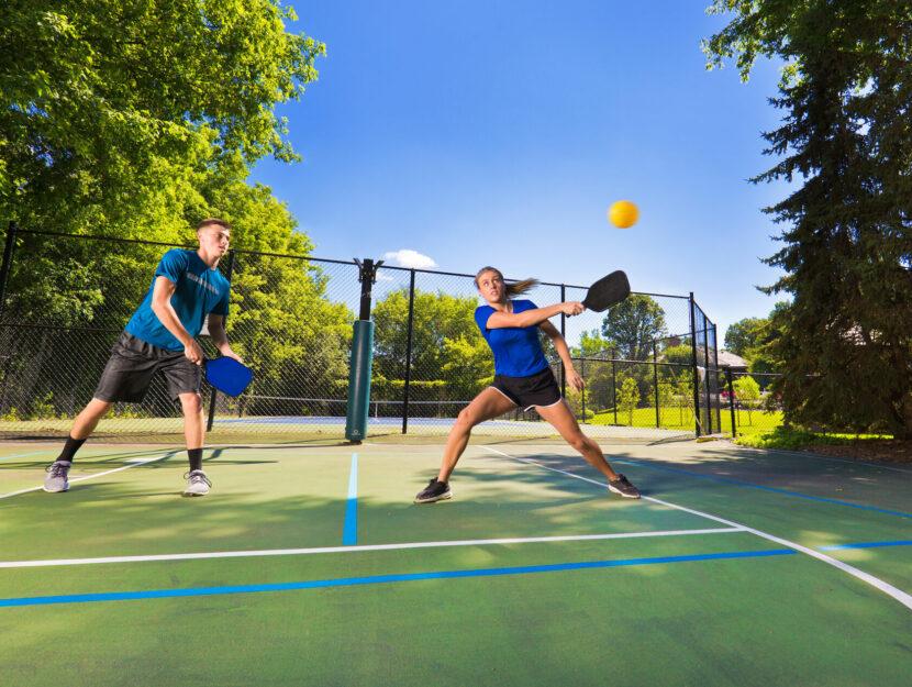 pickleball sport tennis