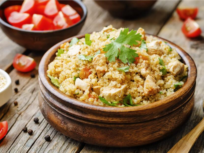ricetta quinoa con pollo