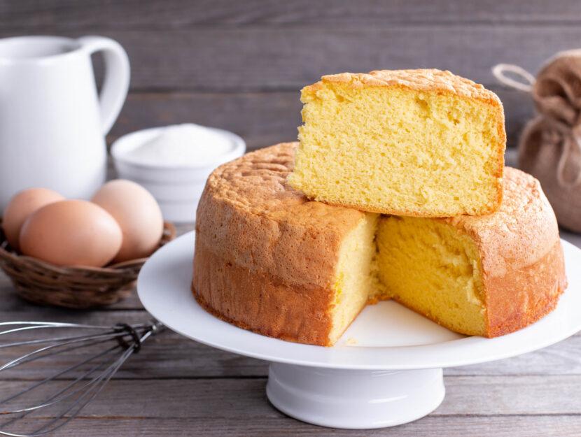 ricetta sponge cake