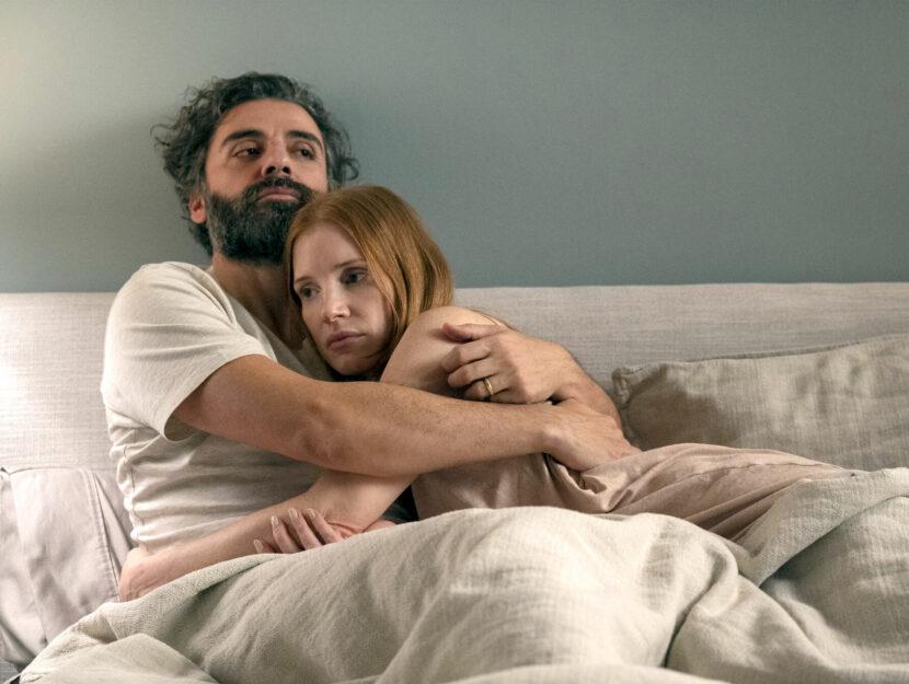 Jessica Chastain e Oscar Isaac nella serie tv Scene da un matrimonio, presentata alla Mostra di Vene