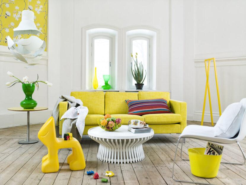 Casa mobili gialli