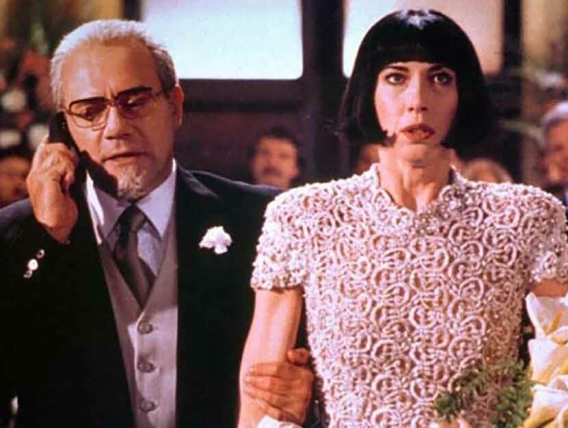"""Un frame del film """"Viaggi di nozze"""", in cui i desideri - anche sessuali - di Fosca (Veronica Pivetti"""